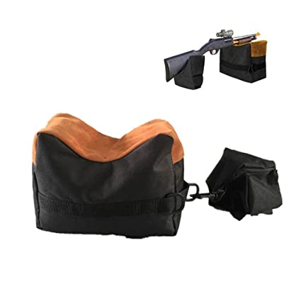 Unfilled Front  Shooter/'s Gun Rest Sand Bags Shooting Bench Steady Range Target