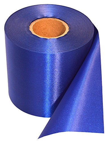 Blue Ceremonial Grand Opening Ribbon 50 Yard Length and 4 inch Wide