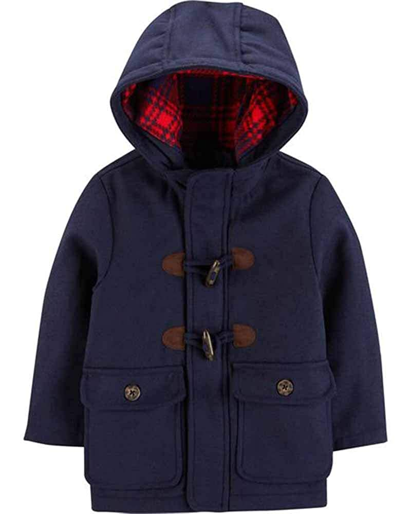 Carters Baby Boys Infant Faux Wool Toggle Jacket