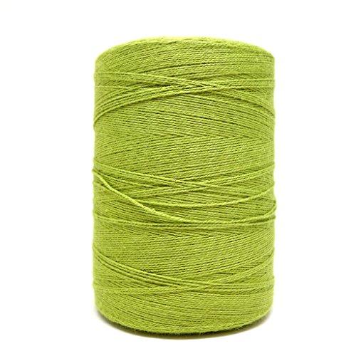 (8/2 Un-Mercerized Brassard Cotton Weaving Yarn ~ Yellow Green)