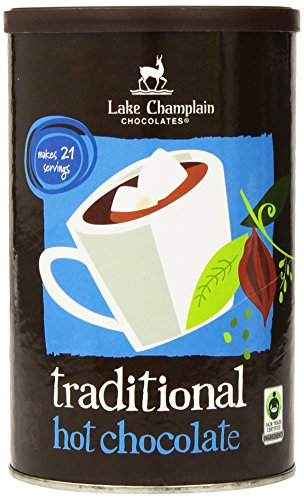 LAKE CHAMPLAIN CHOCOLATES Traditional Hot Chocolate Mix, 16 OZ made in New England
