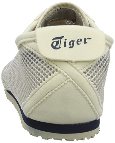 Onitsuka Tiger Mexico 66, Unisex-Erwachsene Low-Top Sneaker Weiß (OFF-WHITE /NAVY)