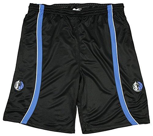 Dallas Mavericks NBA Team Color Mens Shorts, Black (XL)