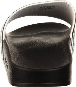 Adidas Originals Men's Adilette Slide Sandal,blackwhiteblack,7 M Us 1