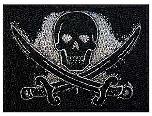 Jolly Roger Calico Jack Morale Hook Morale Patch (CAL2)