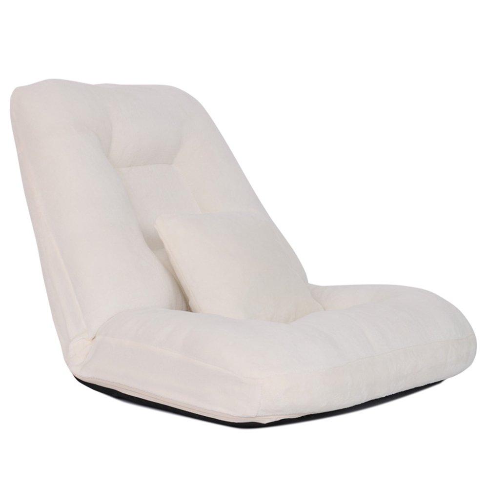 QFFL クリエイティブなソフトベッドルームのソファベッド/バルコニーシエスタ実用的な快適な背もたれの椅子/湾ウィンドウチェア/コンピュータチェア(9色オプション) アウトドアスツール (色 : F f) B07F5QZX2R F f F f