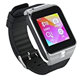 Stoga Twatch ST-042 GSM Watch Phone Bluetooth Smart Watch Wristwatch Phone Mate (Black)