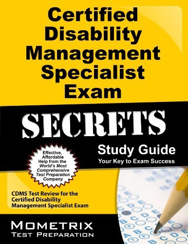 By CDMS Exam Secrets Test Prep Team Certified Disability Management Specialist Exam Secrets Study Guide: CDMS Test Review for the Certif [Paperback]