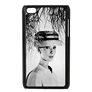 Custom High Quality WUCHAOGUI Phone case Movie & TV Super Star Audrey Hepburn Protective Case FOR IPod Touch 4th - Case-3