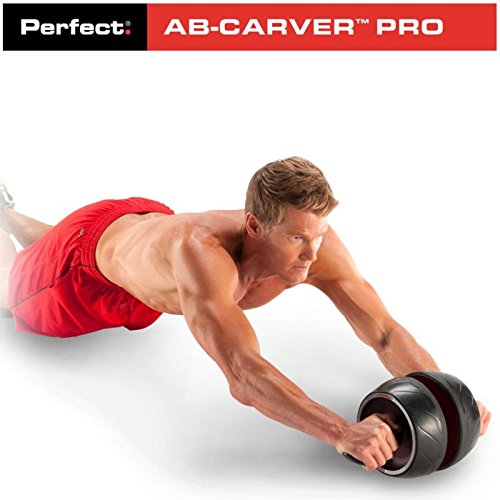 AB-Roller Übungsrad Carver Pro für Krafttraining, Bauchmuskeltraining, Fitness, Heimtraining