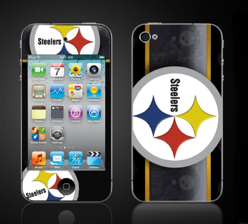 Apple iPod Touch 4th Gen Skin Kit - Steelers, Pittsburgh Foo