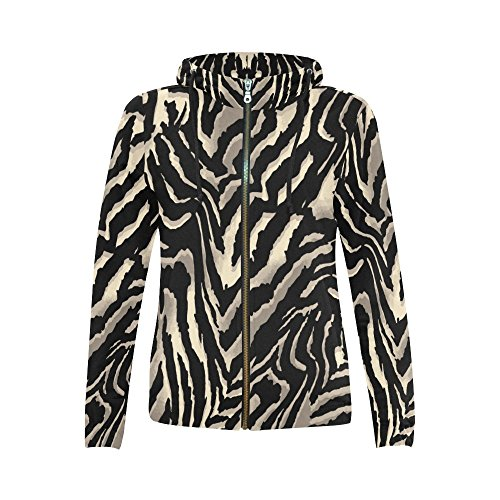 Zebra Print Sweatshirt - 1