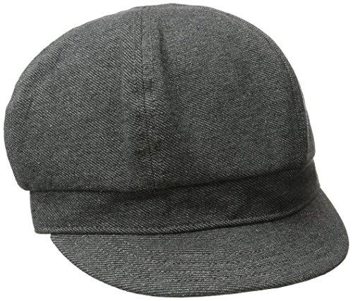 Goorin Women Accessories Hats (Goorin Bros. Women's Eva Cabbie Cotton Hat, Grey,)