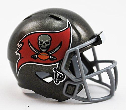 Tampa Bay Buccaneers NFL Riddell Speed Pocket PRO Micro/Pocket-Size/Mini Football - Helmet Bay Tampa Buccaneers