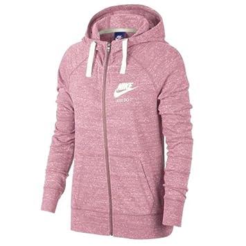 db180f08e617 Nike 883729-678 Sweat à Capuche entièrement zippé Femme  Amazon.fr ...