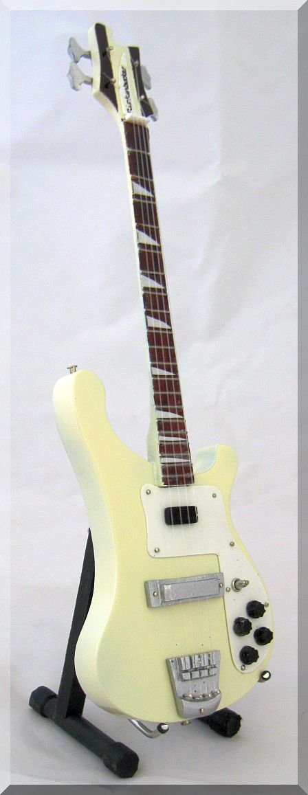 CHRIS SQUIRE Miniature BASS Rickenbacker YES ARTSTUDIO35