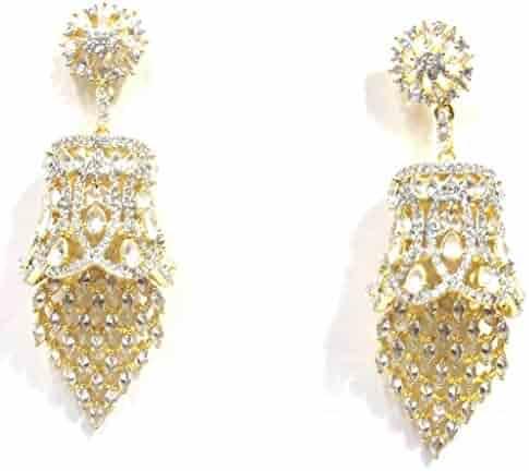 cf219849f Jewelshingar Jewellery Fine Gold Plated Dangle & Drop Earrings For Girls  (34277-ead)