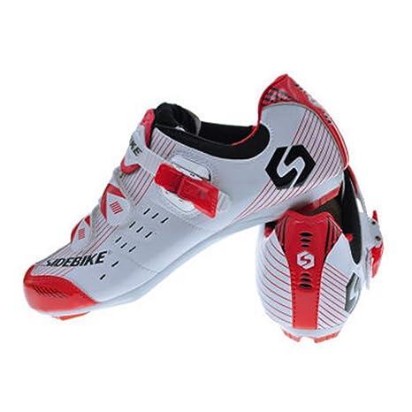 Con Carretera AdultosBicicleta Sidebike Al De CalasZapatillas Pedales Viento Zapatos Resistente Ciclismo Para Y W29beEYHDI
