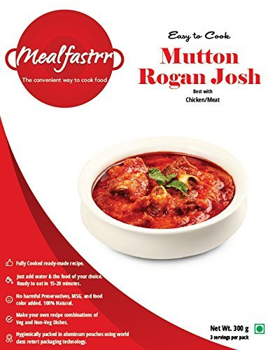 Mealfastrr mutton rogan josh ready to cook and eat indian meal gravy mealfastrr mutton rogan josh ready to cook and eat indian meal gravy masala curry 300 forumfinder Images