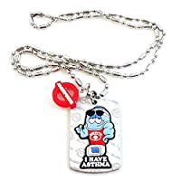 AllerMates Kids Medical Alert Asthma Children's Necklace