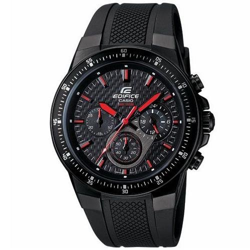 Casio EF552PB 1A4V Black Resin Quartz