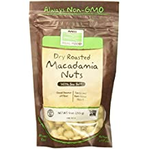 Macadamia Nuts Roasted and Salted Now Foods 9 oz Bag