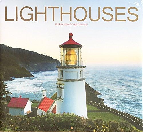 Lighthouses 2018 Wall Calendar 16 Months