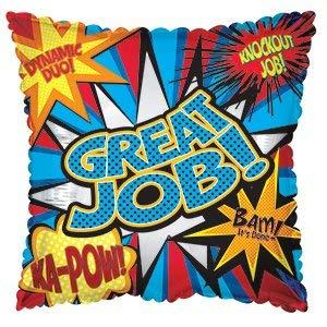 partyloon Great Job Ka-Pow Superhero 18
