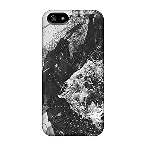 Anti-scratch And Shatterproof Abstract Multicolor Phone Case For Iphone 5/5s/ High Quality Tpu Case