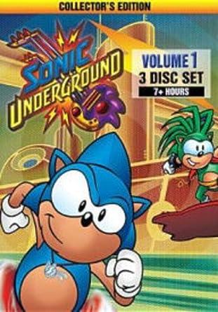 Amazon Com Sonic Underground Volume 1 Animated Dic Entertainment Movies Tv
