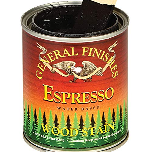 General Finishes Water Based Stain Espresso Quart