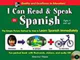 I Can Read and Speak in Spanish (Book + Audio CD) by Hazan, Maurice (2005) Hardcover