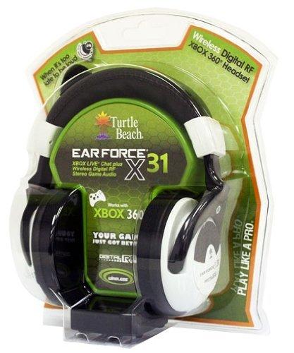 Voyetra Turtle Beach Ear Force X31 Wireless Headset Heart-Thumping Bass Boost Stereo Expander