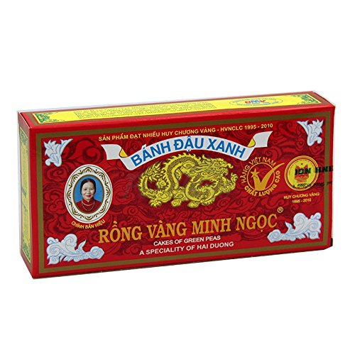 Rong Vang Minh Ngoc - Vietnam Cake Of Green Peas 240 g / 8 oz
