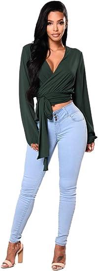 iRACHEU Women's High Waisted Stretch Butt Lifter Skinny Jeans Slim Denim Pants