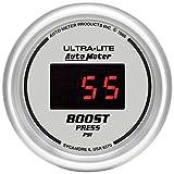Auto Meter 6570 Ultra-Lite Digital 2-1/16'' 22037 PSI Digital Boost Gauge