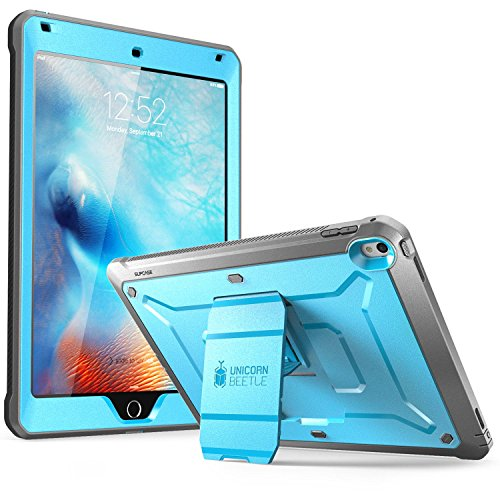 iPad-Pro-97-inch-Case-SUPCASE-Heavy-Duty-Apple-iPad-Pro-97-2016-Case-Unicorn-Beetle-PRO-Series-Full-body-Rugged-Protective-Case-with-Built-in-Screen-Protector-Dual-Layer-Design-BlueBlack