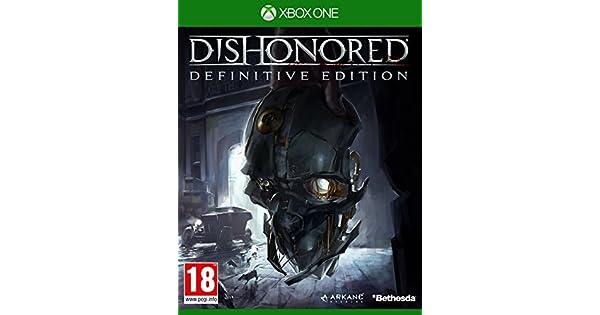 Dishonored Definitive Edition 100% uncut [AT-PEGI] (Xbox ONE) by Bethesda: Amazon.es: Videojuegos