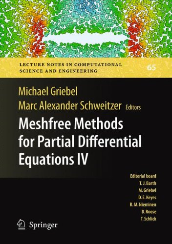 Meshfree Methods for Partial Differential Equations IV (Lecture Notes in Computational Science and Engineering)