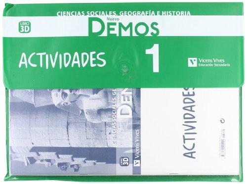 Nuevo Demos 1 Actividades - 9788468204192 Margarita Garcia Sebastian