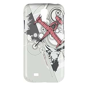 aqiloe diy Cowboy Bebop Swordfish Snap on Plastic Case Cover Compatible with Samsung Galaxy S4 GS4