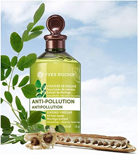 - Yves Rocher Antipollution Rinsing Moringa Extract Vinegar 150 ml/5 fl oz