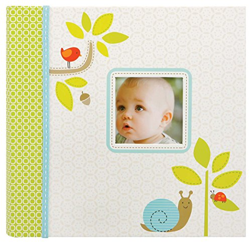 (Carter's Green Woodland Animals My First Years Bound Photo Album Baby Book, 11.6 x 9.5 x 1.2 inches, 60 Pages)