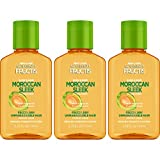 Garnier Hair Care Fructis Sleek & Shine Moroccan Sleek Oil Treatment for Frizzy Hair, 3 Count