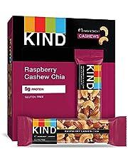KIND Bars, Raspberry Cashew & Chia, Gluten Free, 1.4oz