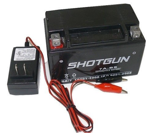 AGM YTX7A-BS Go Cart Moped ATV Scooter 12V 7AH Battery/Charger Combo-1 YR Warran
