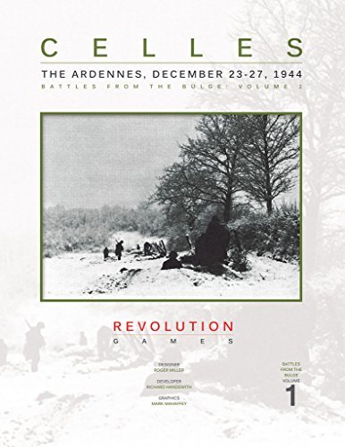 REV: Celles, the Ardennes, December 23-27, 1944, Battles fo the Bulge, Board Game]()