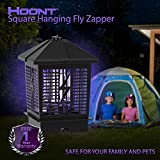 Hoont Ultra Powerful Electronic Indoor / Outdoor Bug Zapper – 1-1/2 Acre Coverage / Fly Killer, Insect Killer, Mosquito Killer – For Residential, Commercial and Industrial Use