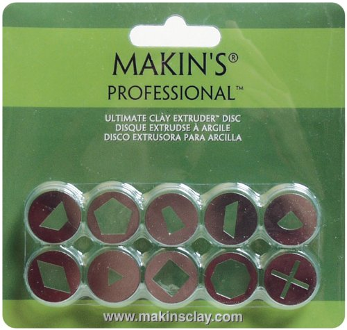 Set A Makins USA Professional Ultimate Clay Extruder Discs 10 Per Package