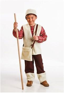 Disfraz de Pastor Niño (3-4 Años): Amazon.es: Juguetes y juegos
